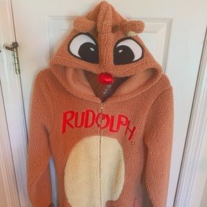 Rudolph the red nose Reindeer Women's onesis